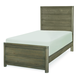 Legacy Classic Kids Big Sky Twin Panel Bed in Weathered Oak 6810-4103K