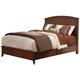 Alpine Furniture Baker California King Panel Bed in Mahogany 977-07CK