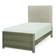 Legacy Classic Kids Big Sky Twin Upholstered Bed in Weathered Oak 6810-4803K