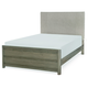Legacy Classic Kids Big Sky Full Upholstered Bed in Weathered Oak 6810-4804K