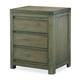 Legacy Classic Kids Big Sky 2 Drawer Nightstand in Weathered Oak 6810-3100