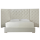 Universal Furniture Modern Brando Queen Bed w/ Panels 643210BW