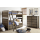 Legacy Classic Kids Big Sky 4pc Bunk Bedroom Set in Weathered Oak