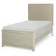 Legacy Classic Kids Indio Twin Upholstered Bed in White Sand 6811-4803K