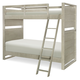 Legacy Classic Kids Indio Twin over Twin Bunk Bed in White Sand