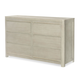 Legacy Classic Kids Indio 6 Drawer Dresser in White Sand 6811-1100
