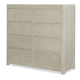 Legacy Classic Kids Indio 8 Drawer Double Chest in White Sand 6811-2201