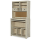 Legacy Classic Kids Indio High Top Desk with Hutch in White Sand 6811-6100-6200
