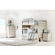 Legacy Classic Kids Indio 4pc Bunk Bedroom Set in White Sand