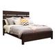 Samuel Lawrence Fulton St. Queen Plank Bed in Oak
