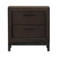 Samuel Lawrence Fulton St. 2 Drawer Nightstand in Oak S086-050
