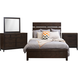 Samuel Lawrence Fulton St. 4pc Plank Bedroom Set in Oak