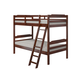 Manhattan Comfort Hayden Twin Bunk Bed in Honey A354