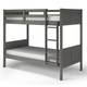 Manhattan Comfort Empire Twin Bunk Bed in Grey B123