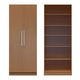 Manhattan Comfort  Chelsea 3.0 6-Shelf Closet with 2 Doors in Maple Cream 2-116651118251