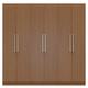 Manhattan Comfort  Eldridge 2.0 Sectional Wardrobe with 4 Drawers and 6 Doors in Maple Cream 35051
