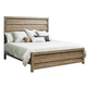 Samuel Lawrence Flatbush Queen Panel Bed in Light Oak S084Q