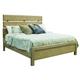 Samuel Lawrence Flatbush Queen Plank Bed in Light Oak S084-Q