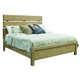 Samuel Lawrence Flatbush King Plank Bed in Light Oak S084-K