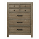 Samuel Lawrence Flatbush 7 Drawer Chest in Light Oak S084-040