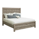 Samuel Lawrence Prospect Hill Queen Pallet Bed in Weathered Gray S082-Q