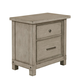 Samuel Lawrence Prospect Hill 2 Drawer Nightstand in Light Oak S082-050
