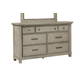 Samuel Lawrence Prospect Hill 7 Drawer Dresser in Light Oak S082-010