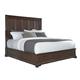 Pulaski Furniture Lindale Queen Panel Bed in Cappucino P030-Q