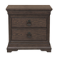 Pulaski Furniture Lindale 2 Drawer Nightstand in Cappuccino P030140