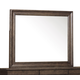 Pulaski Furniture Lindale Landscape Mirror in Cappuccino P030110