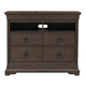 Pulaski Furniture Lindale 4 Drawer Media Chest in Cappuccino P030145