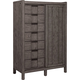 Broyhill Furniture Sonoma Stylist Cabinet Chest in Acacia 4865-242