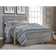 Culverbach Queen Panel Bed in Gray