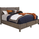 Broyhill Furniture Sonoma Queen Panel Bed in Acacia