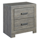 Culverbach 2 Drawer Nightstand in Gray B070-92