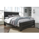 Brinxton King Poster Bed in Dark Charcoal