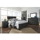 Brinxton 5pc Poster Bedroom Set in Dark Charcoal