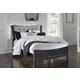 Amrothi Queen Panel Bed in Black