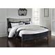Amrothi King Panel Bed in Black