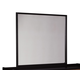 Stavani Bedroom Mirror in Black/Brown