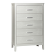 Olivet 5 Drawer Chest in Silver B560-46