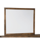 Mydarosa Bedroom Mirror in Brown B588-36