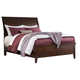 Evanburg Queen Sleigh Bed in Brown
