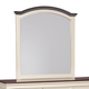 Woodanville Bedroom Mirror in White/Brown B623-36