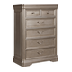 Birlanny 5 Drawer Chest in Silver B720-46 PROMO