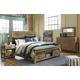 Sommerford 4pc Panel Storage Bedroom Set in Brown