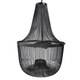 Jessika Metal Pendant Light in Black L000568