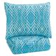 Jolana 2-pc Full Quilt Set in Turquoise Q319003F