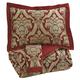 Asasia 3pc King Comforter Set in Scarlet Q325003K