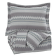 Asante 3pc King Duvet Cover Set in Multi Q329003K